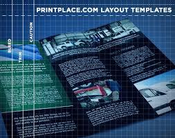 brochures templates free download printplace com