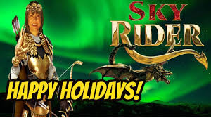 sky rider slot machine bonuses merry holidays