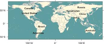 True World Map by Coordinate System Is There A Way To Get Undistorted Maps In R