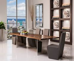 Thunder Dining Set Modern Dining Room Miami By El Dorado - Dining room sets miami