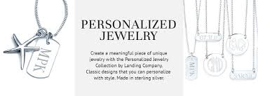 personalized jewlery personalized jewelry landing company