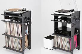 Record Player Storage The Kickstarter Backed Turntable Station Wants To Solve Vinyl Fans