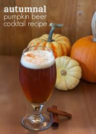 pumpkin beertails cocktails made with pumpkin beer