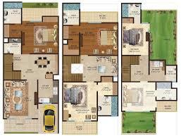 amrapali group amrapali dream valley villas floor plan amrapali