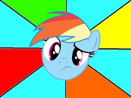Mlp Rainbow Dash Meme - confused dash meme template by snakeman1992 on deviantart