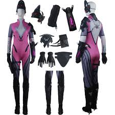 delux halloween costumes overwatch widowmaker costume toys heroine shooter halloween