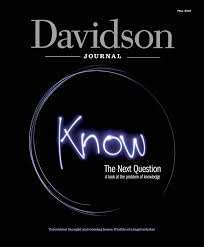 davidson journal fall 2015 by davidson journal issuu