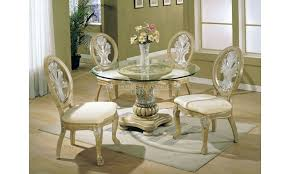 Antique White Dining Room Sets Coronado Round Antique White - Round pedestal dining table in antique white