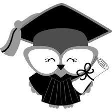 graduation owl silhouette design store view design 199732 graduation owl girl