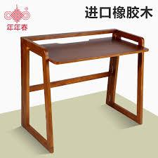Japanese Desk Solid Wood Folding Table Desk Simple Minimalist Japanese Style