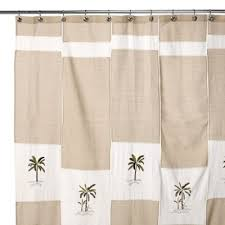 Croscill Opulence Shower Curtain Buy Linen Looking Shower Curtain From Bed Bath U0026 Beyond