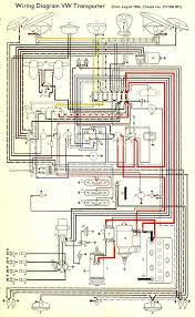 1967 bus wiring diagram thegoldenbug com