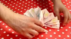 Pliage Serviette Papier Poinsettia by Tuto 6 Pliage De Serviette En éventail En 2 Minutes Youtube