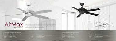 Ceiling Fan Features Crestar Airmax Aluminium 48