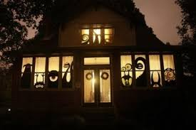 halloween window silhouettes u2013 diy ideas and useful decor tips