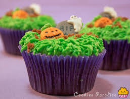 Cookies Paradise Halloween Cupcakes Truco O Trato