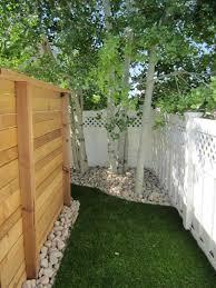 Backyard Landscaping Ideas For Dogs Backyard Dog Fence Home U0026 Gardens Geek
