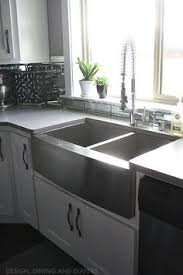 Kitchen Stainless Sinks by Stainless Steel Farmhouse Style Kitchen Sink Inspiration