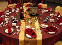 Wedding Table Setting Table Setting For A Fall Wedding Lovetoknow