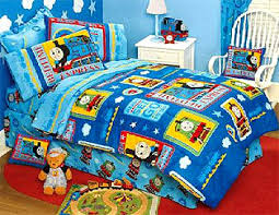 Train Cot Bed Duvet Cover Thomas The Train Bedding Full Size Fire Fighter Thomas Train Bed