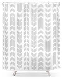 White Contemporary Curtains Interesting Contemporary Shower Curtains And Shower Curtain Modern