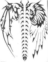 back tattoos wings angel devil wings tattoo 4 tattoo design of angel tattoo