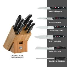 Kitchen Knives Henckels 7 Knife Set Twin皰pollux Zwilling Tavola