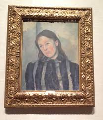 Madame Cezanne In A Red Armchair Mme Cezanne At The Met Saxon Henry