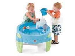 step 2 sand and water table step2 arctic splash water table a splashin good time moms