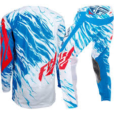 fly racing motocross fly racing 2017 mx new kids kinetic relapse white blue youth