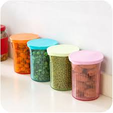 buy kitchen canisters 4pc lot food container kitchen storage high quality cylindrical