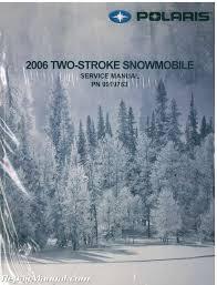 polaris snowmobile manuals repair manuals online