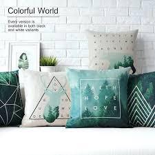 plaid turquoise pour canapé plaid turquoise pour canape cheap pillow ticking buy quality