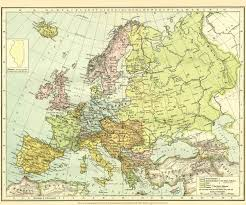 Old Map Of Europe by Europe Before 1918