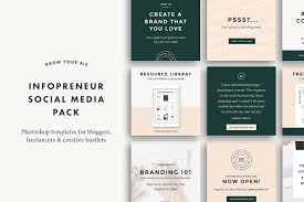 step up your instagram game with these 20 social media psd