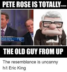 Pete Rose Meme - pete rose is mlbmeme c leads series 3 2 at royals tied 3 3 eurrently