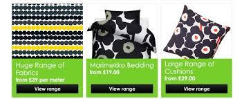 Marimekko Shower Curtains Marimekko Fabric Bedding Cushions Shower Curtains Bags
