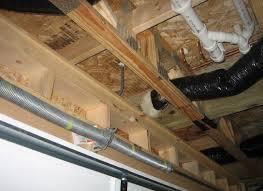 floor above garage