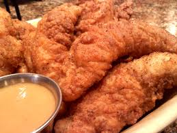 crispy fried chicken tenders and a copycat recipe for fil a