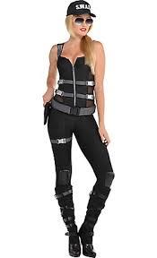 Halloween Costume Women Armed U0026 Dangerous Swat Costume Halloween