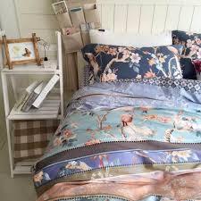 Egyptian Cotton Duvet Set Sale Blue Bedding
