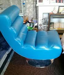 blue leather swivel chair blue leather swivel chair south yorkshire office furniture
