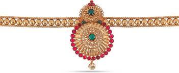 hip necklace chain images Jewlot jewlot 24k yellow gold kundan hip chain for women and girls jpeg