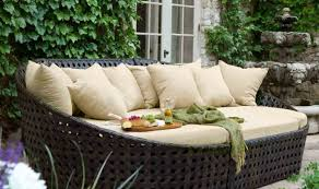 Plastic Wicker Patio Furniture - bench round resin patio table with removable legs wonderful