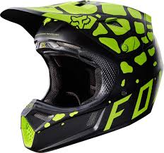 fox racing motocross 2017 fox racing v3 grav helmet motocross dirtbike offroad mens