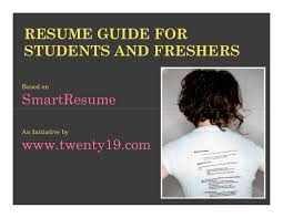 Mba Sample Resume For Freshers Finance by Smartest Resume Guide For Students And Freshers