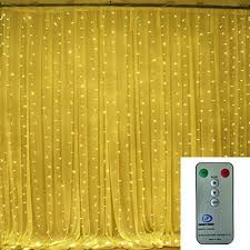 curtain fairy lights bedroom decorate the house with beautiful