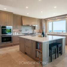 white oak kitchen cabinets pebble setting downsview kitchens and custom