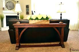table with stools underneath sofa table with stools console table beautiful sofa table with