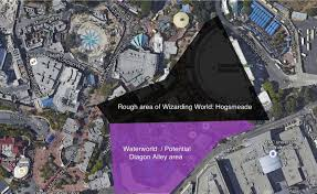 Harry Potter World Map by Diagon Alley Hollywood Expansion Plans Will It Include Hogwarts